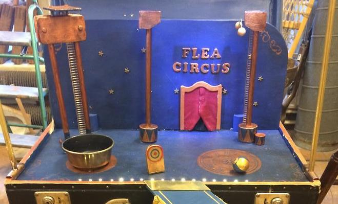 Conny's Amazing Flea Circus - Stockholm Street Festival 2-5th of July 2015