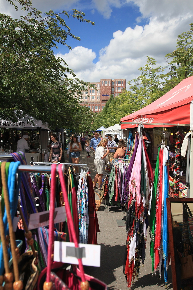 Market Stalls area at Stockholm Street Festival 2016 - Photo: Zack Segelström