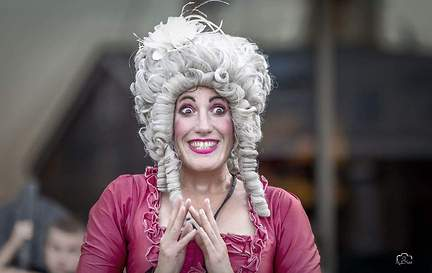 Kate Mior/Marie Antoinette at Stockholm Street Festival on Tour 2019