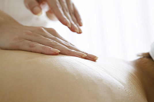 Taktil massage hos Luthagens Massage & Rehab